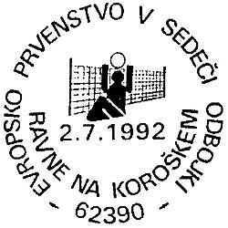02_07_1992 - Evropsko prvenstvo v sedeči odbojki