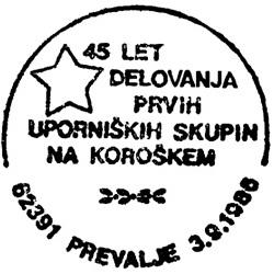 03_09_1986 - 45 let delovanja prvih uporniških skupin na Koroškem