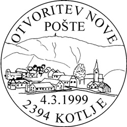 04_03_1999 - Otvoritev nove pošte Kotlje