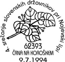 09_07_1994 - IV srečanje slovenskih državnikov pri Najevski lipi
