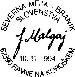 10_11_1994 - 100 letnica rojstva Franjo Malgaj - Ravne na Koroškem 62390