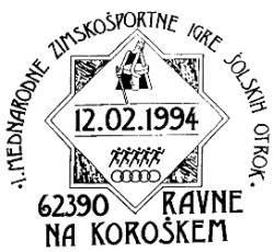 12_02_1994 - I mednarodne zimskošportne igre šolskih otrok