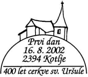 16_08_2002 - 400 let cerkve Uršlja gora - Kotlje