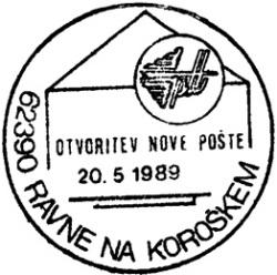 20_05_1989 - Otvoritev nove pošte Ravne