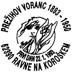 22_01_1993 - 100 let rojstva Prežihov Voranc