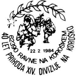 22_02_1984 - 40 let prihoda XIV.divizije na Koroško
