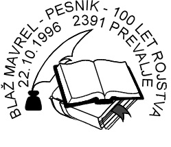 22_10_1996 - 100 let Blaž Mavrel