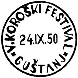 25_9_1950 - V. Koroški festival