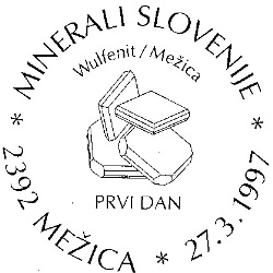 27_03_1997 - Minerali Slovenije - Wulfenit Mežica