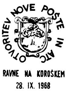28_9 - 6_10_1968 - Otvoritev pošte Ravne  001