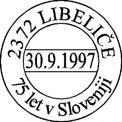 30_09_1997 - 75 let v Sloveniji Libeliče