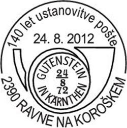 KFD78_140let_pošte_Ravne_24_8_2012